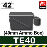 (42)Iron Black_TE40(40mm Ammo Box)