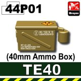 (44)Dark Tan_TE40(40mm Ammo Box)P01