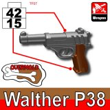 Iron Black+Brown(4615)_Walther P38