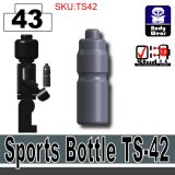 (43)Dark Blue Gray_Sports Bottle TS-42