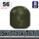 (56)Deep Gray Green_Ski Mask(T61)