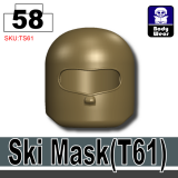 (58)Deep Bronze Brown_Ski Mask(T61)